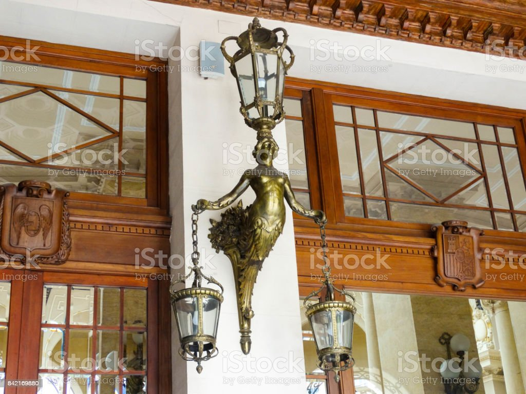 Wall Sconce stock photo