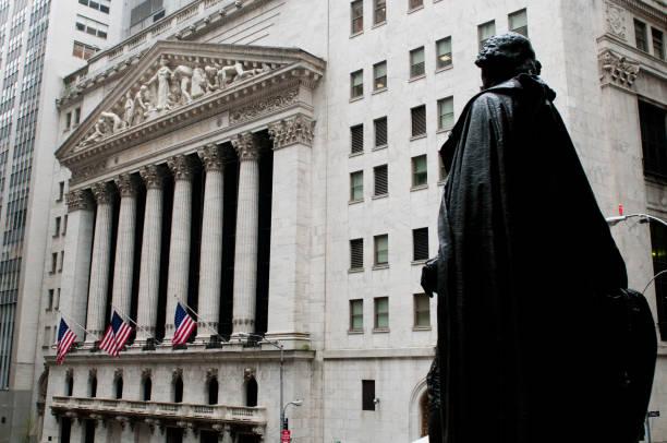 Wall Street, NYC. – Foto