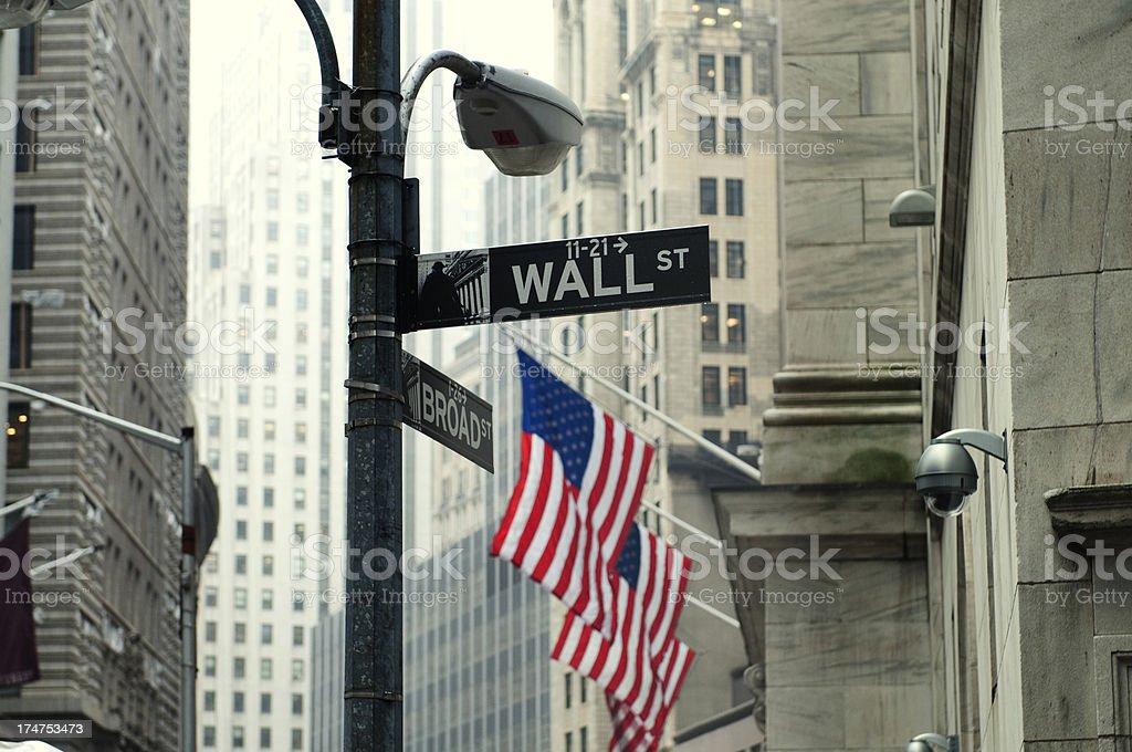 Wall Street, NYC – Foto