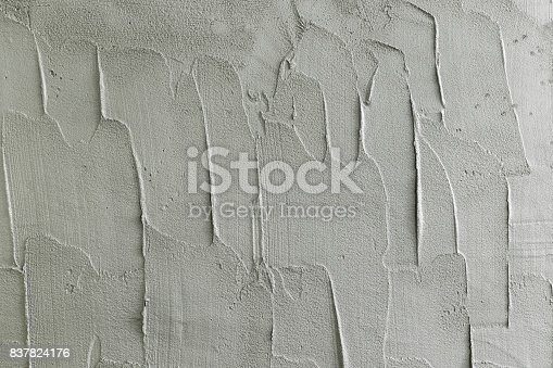istock Wall surface plaster 837824176