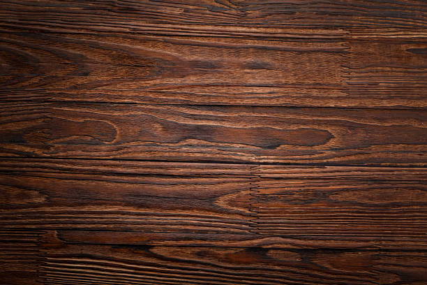 wall, table, dark brown, brown wood, planks, pine, background, wooden shelf, twinkle lights, wooden counter, wood texture, presentation, vintage stock photo