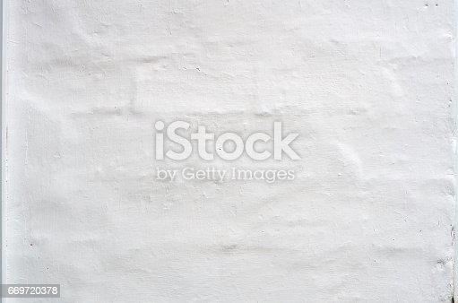 istock Wall texture background.White plaster natural pattern 669720378