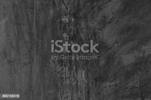 469217930 istock photo Wall texture used as background. black and white for design 600153416