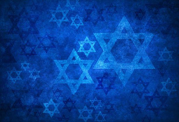 ściana tekstura z david gwiazdy - judaizm zdjęcia i obrazy z banku zdjęć