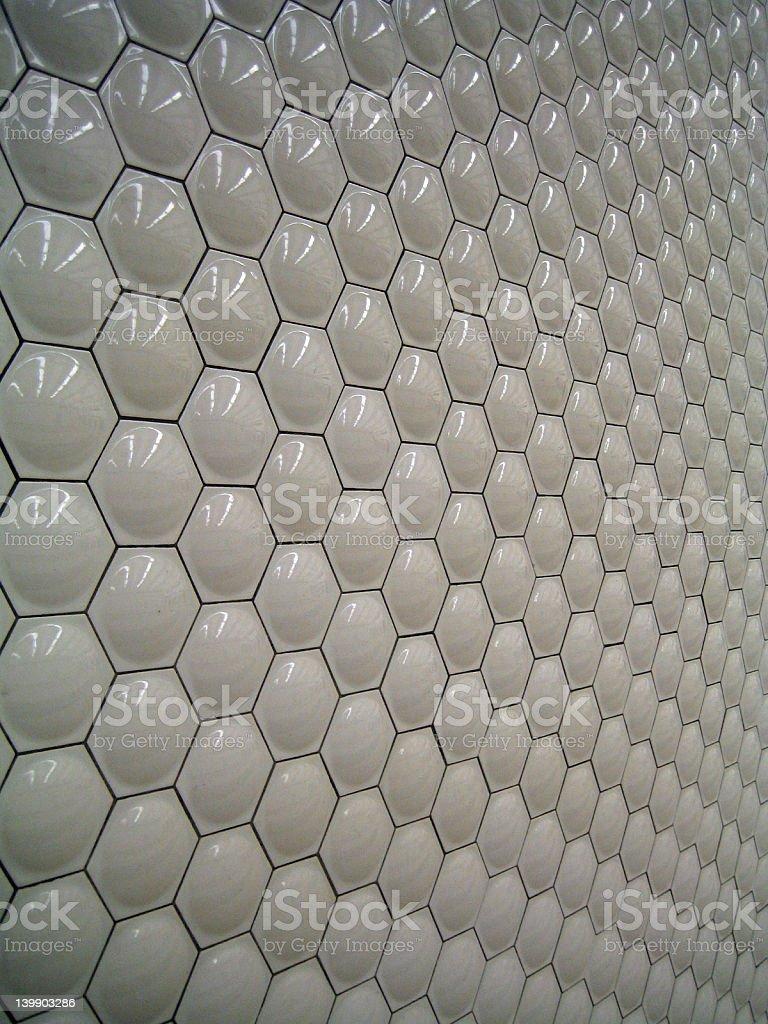 Wall Tile Pattern, San Francisco stock photo