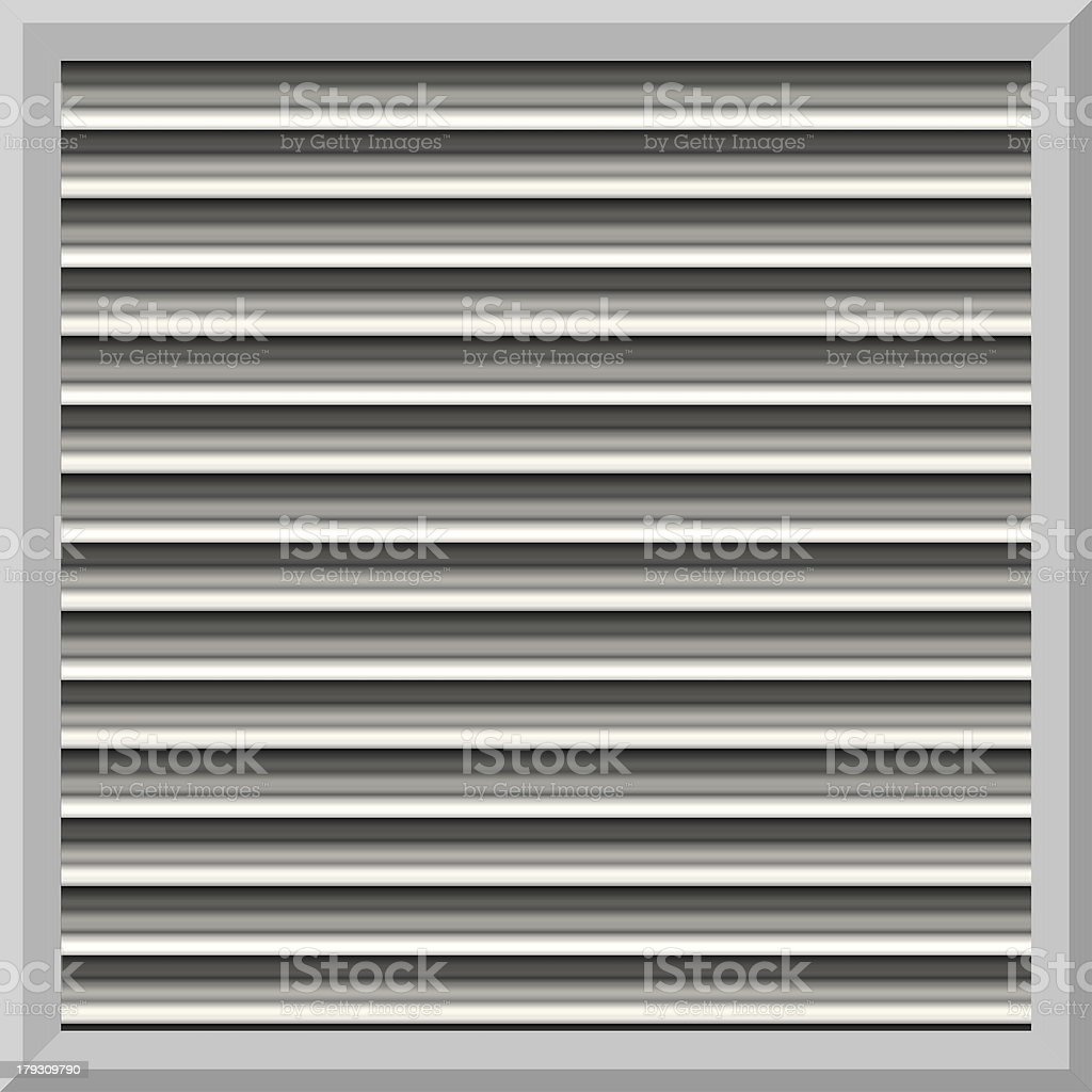 AC Wall Vent (Seamless texture) royalty-free stock photo