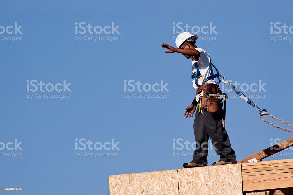 Wall Walker stock photo
