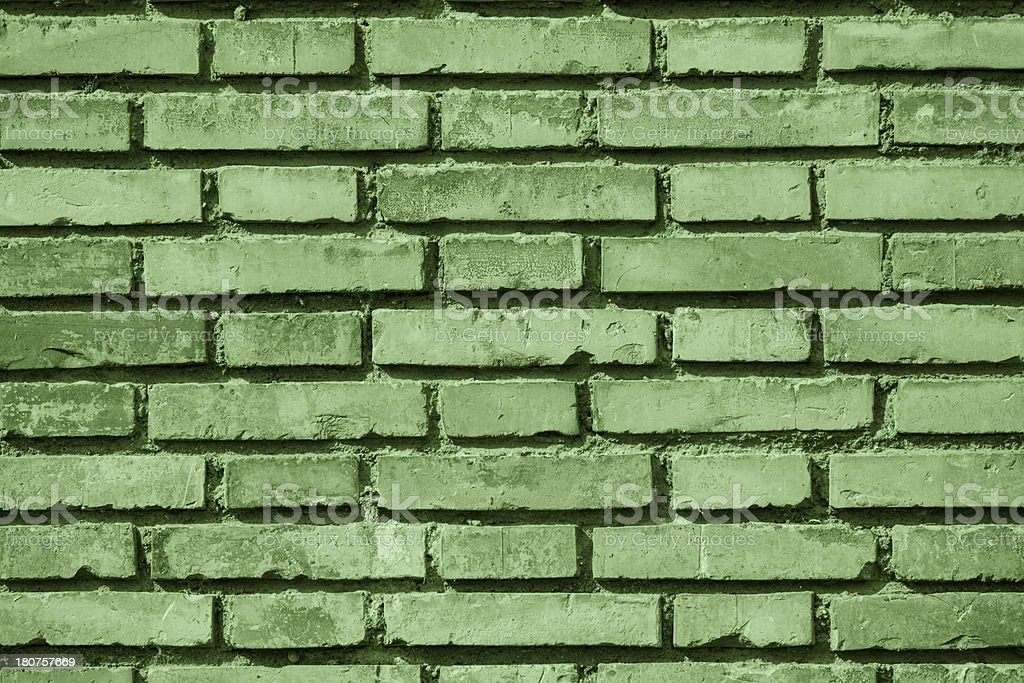 Wall with bricks background royalty-free stock photo