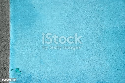 istock Wall with bright two colored paint pattern 525058775