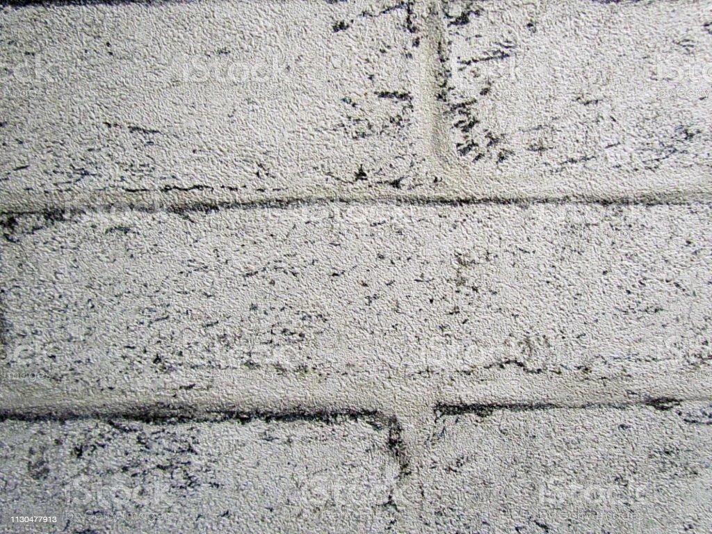 Photo Libre De Droit De Mur Imitation De Briques Blanches
