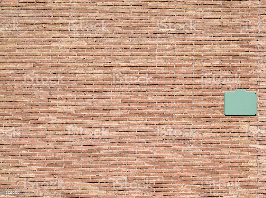 wall with info street royalty-free stock photo