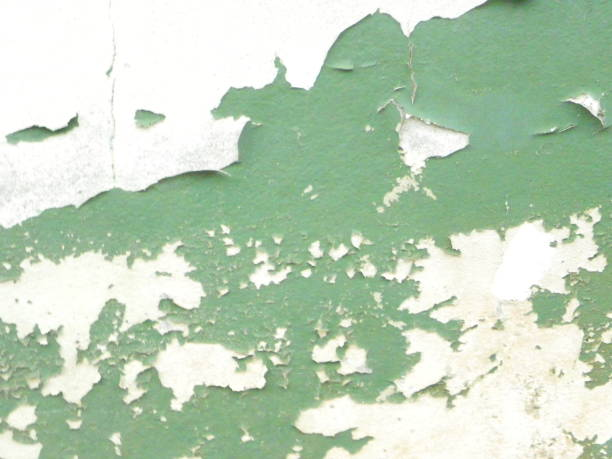 wall with peeled paint - peeled stock photos and pictures