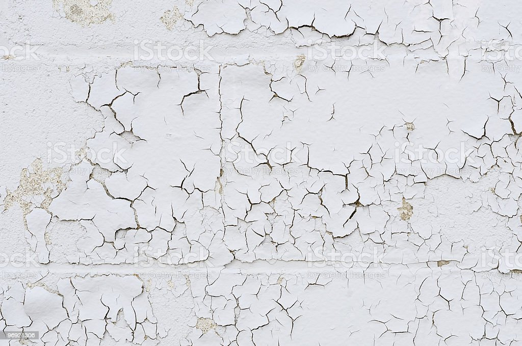 Wall with peeling paint royalty-free stock photo