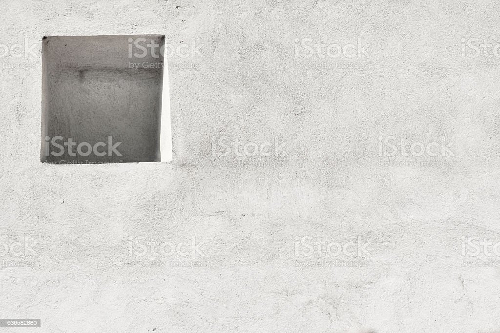 Wall with the Niche stock photo