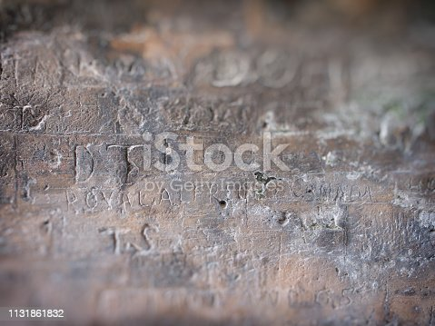 istock Wall Writings 1131861832