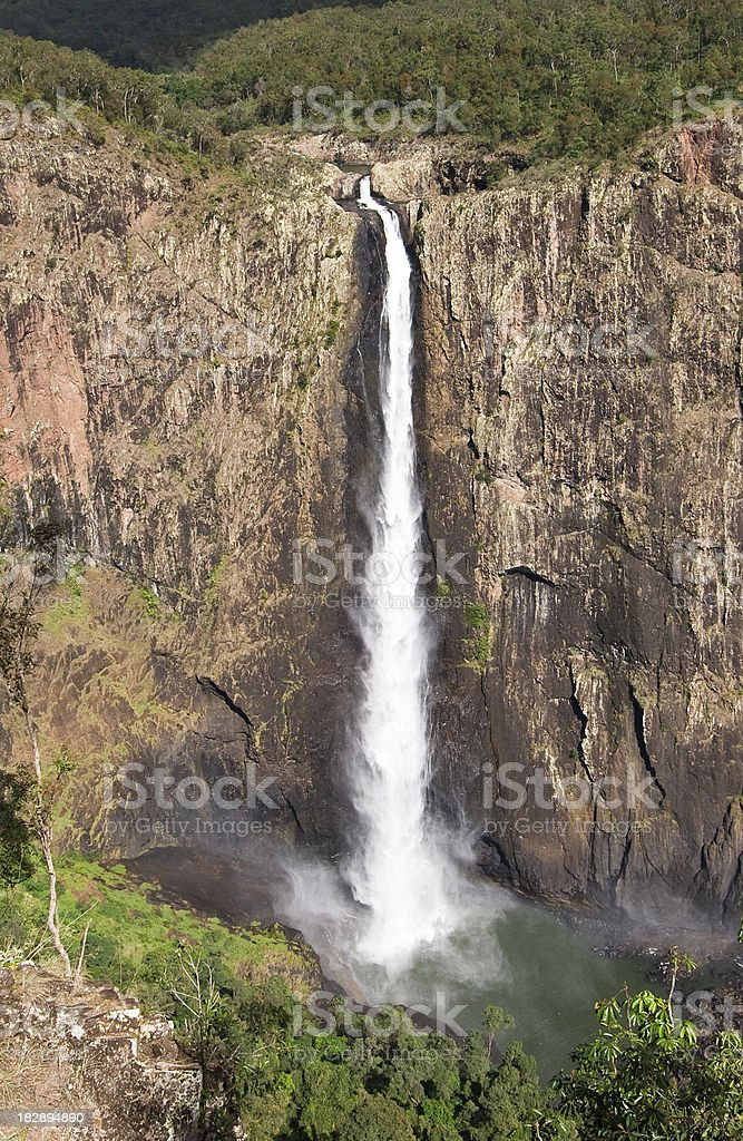 Wallaman Falls stock photo