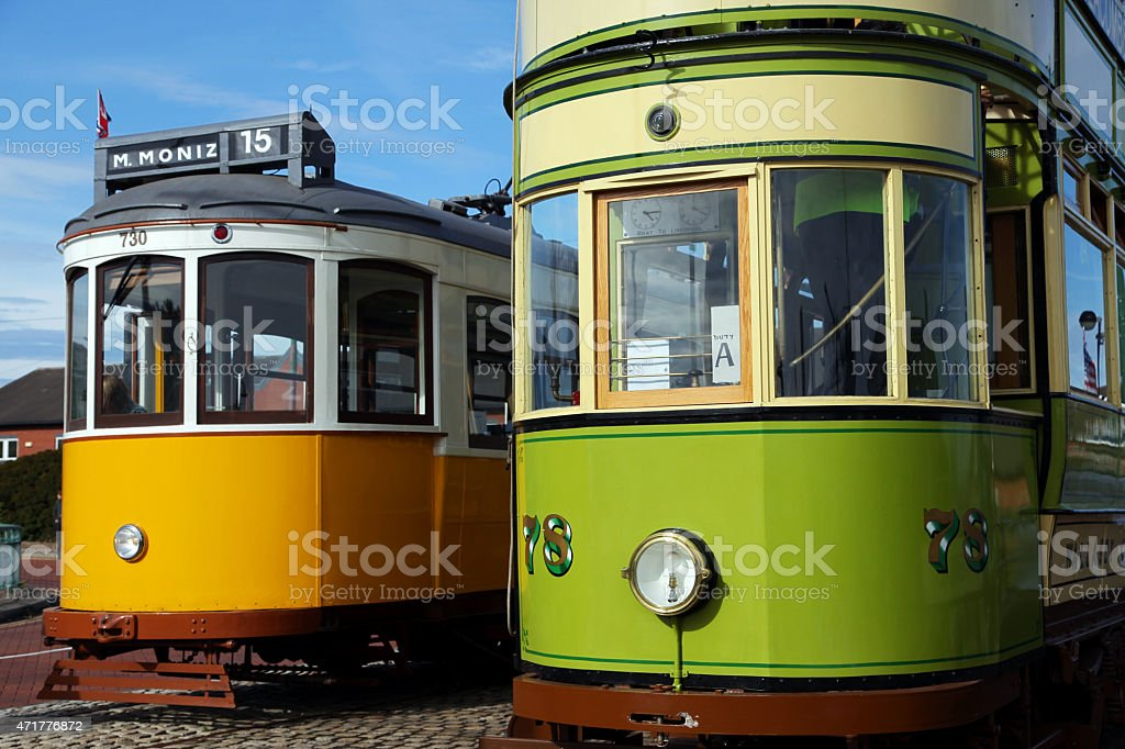 Wallasey & Lisbon Tram - Royalty-free 2015 Stock Photo