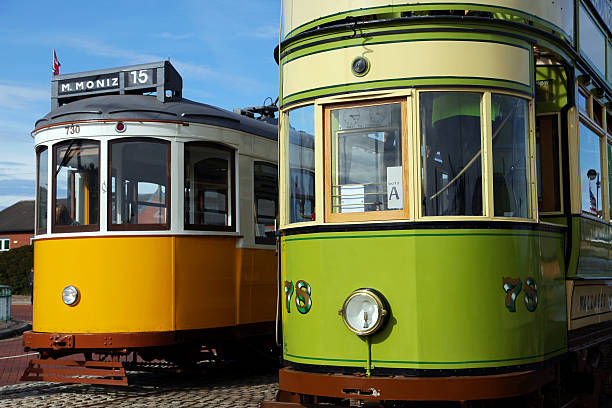 Wallasey & Lisbon Tram stock photo