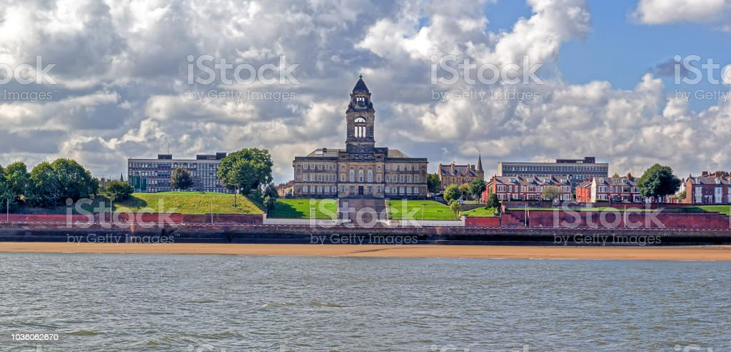 Wallasey Town Hall stock photo