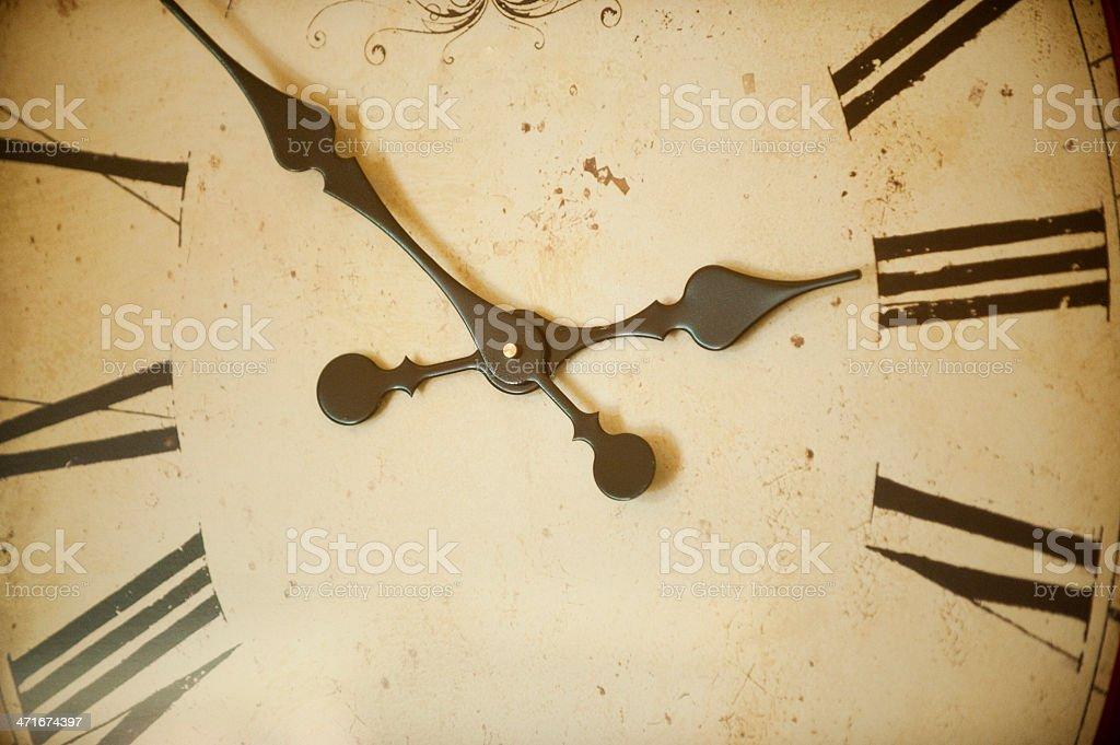 Wall-Clock royalty-free stock photo
