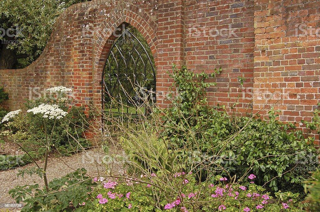 Walled Garden, Basingstoke stock photo