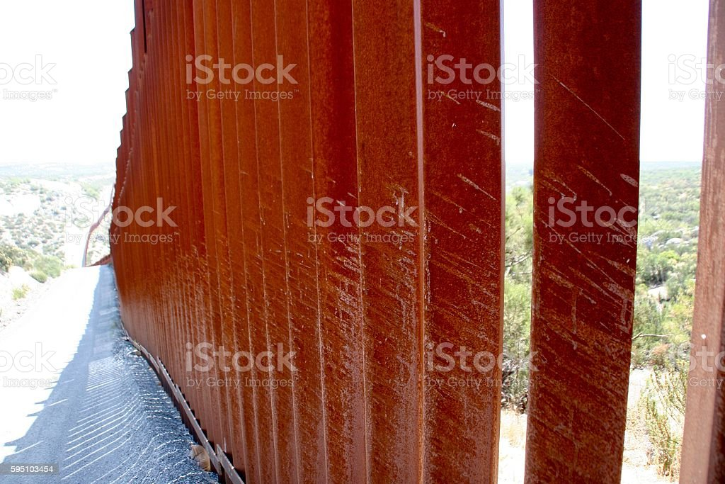 Walled Out stock photo