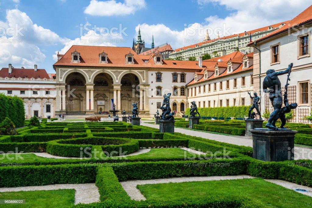 Wallenstein Garden in  Prague, Czech Republic - Royalty-free Architecture Stock Photo