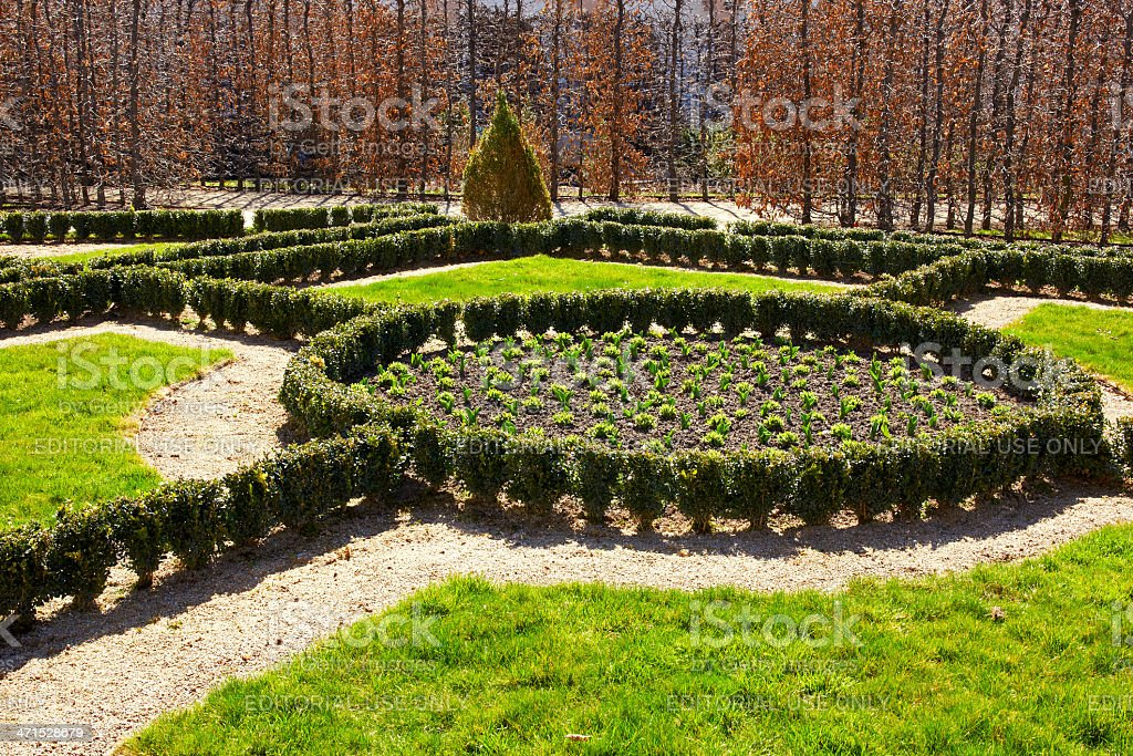 Wallenstein garden royalty-free stock photo