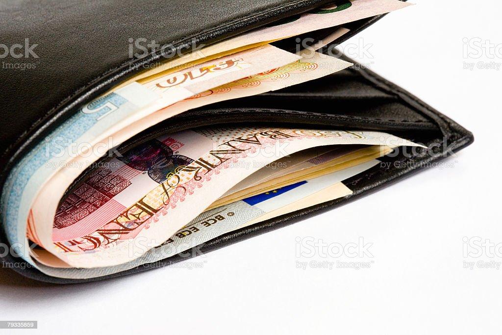 Wallet 免版稅 stock photo