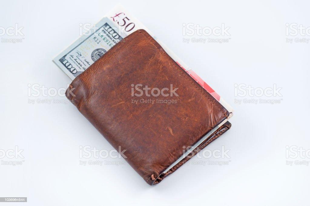 precios de liquidación baratas nuevo estilo de Cartera Con Billetes De 50 Y 100 Foto de stock y más banco de imágenes de  Actividad comercial