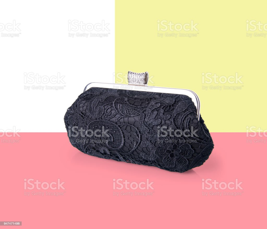 wallet. woman wallet on background stock photo