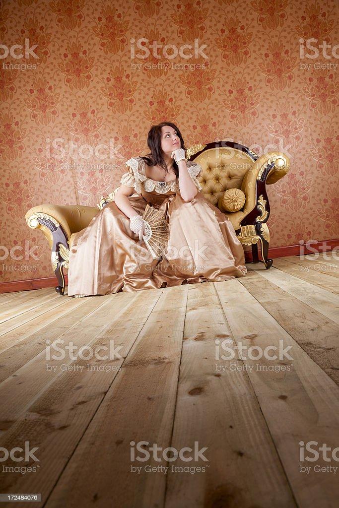 Wallflower royalty-free stock photo