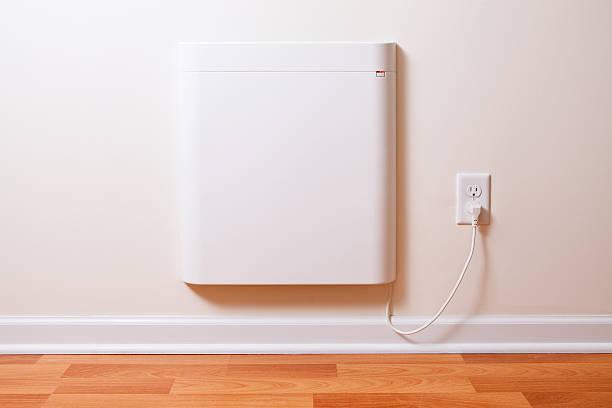 wall-mounted electric convection heater - solar panel bildbanksfoton och bilder