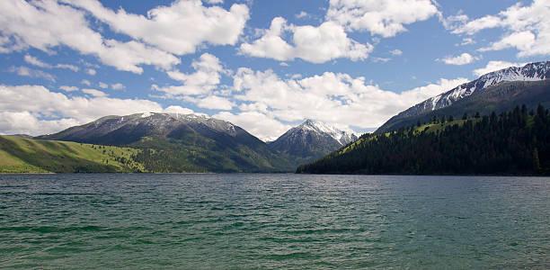 Wallowa Lake stock photo