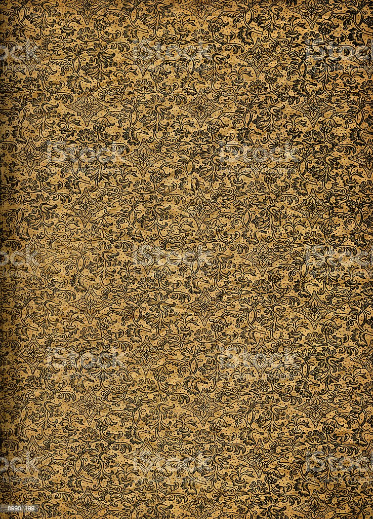 Wallpaper from Ancient Book royalty-free stock photo
