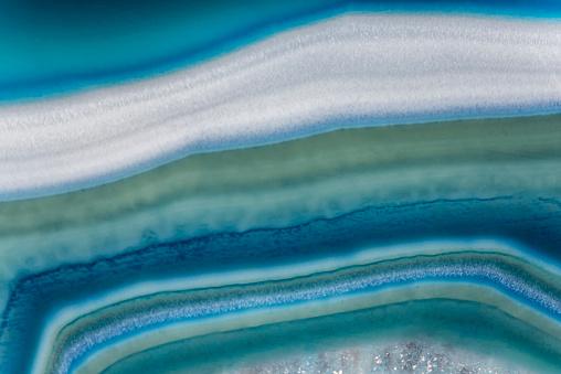 Wallpaper - Texture - Blue Agate
