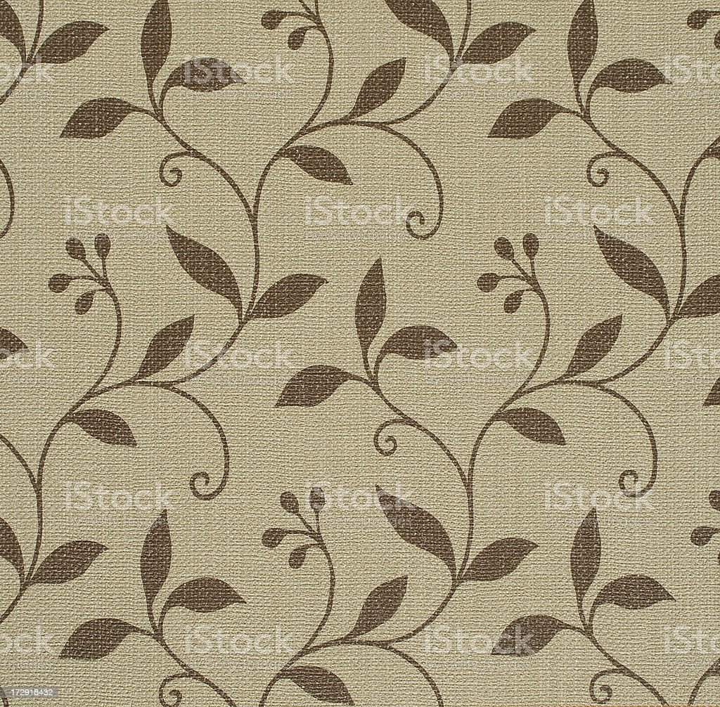 Wallpaper  with floral pattern royalty-free stock photo