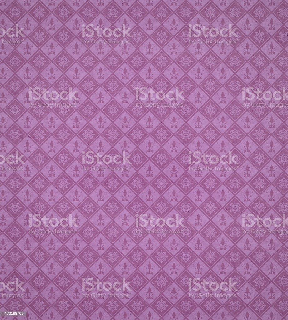 wallpaper with medieval pattern stock photo