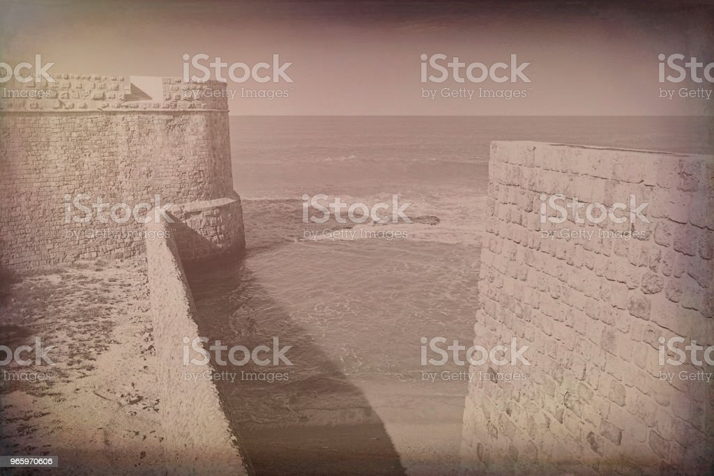 Walls of Akko in Israel. - Royalty-free Acco Stock Photo