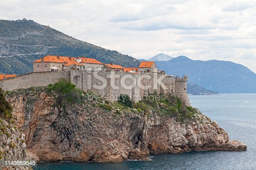 The Walls of Dubrovnik (Croatian: Dubrovačke gradske zidine) are a series of defensive stone walls surrounding the city of Dubrovnik in southern Croatia.