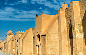 Walls of the Great Mosque of Kairouan in Tunisia, North Africa