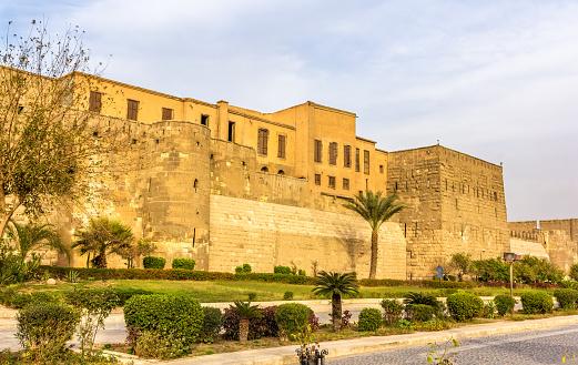 468444004 istock photo Walls of the Saladin Citadel of Cairo - Egypt 466085024