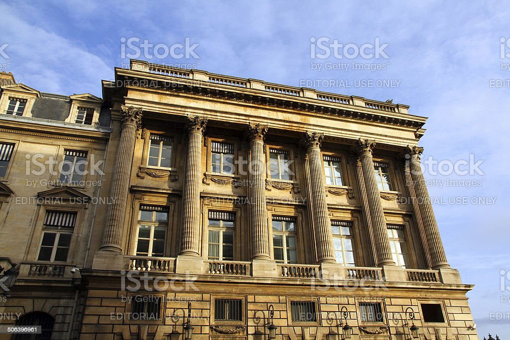 Walls of the Square royalty-free stock photo