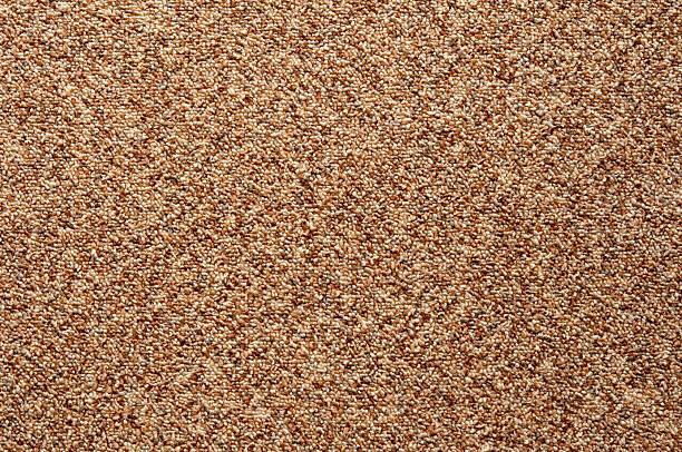 teppichboden loop material gepunktete braun muster full frame - teppich geometrisch stock-fotos und bilder
