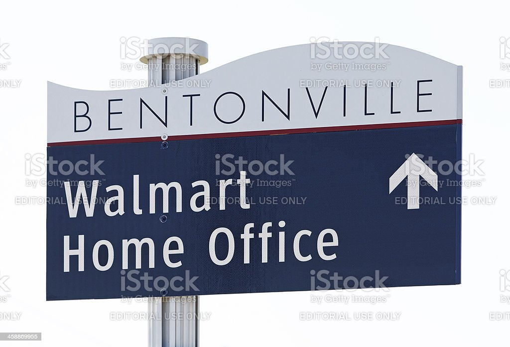 Walmart Home Office stock photo