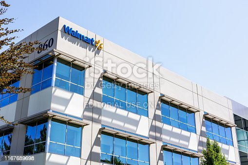 496586115 istock photo Walmart Labs offices in Silicon Valley 1167689698