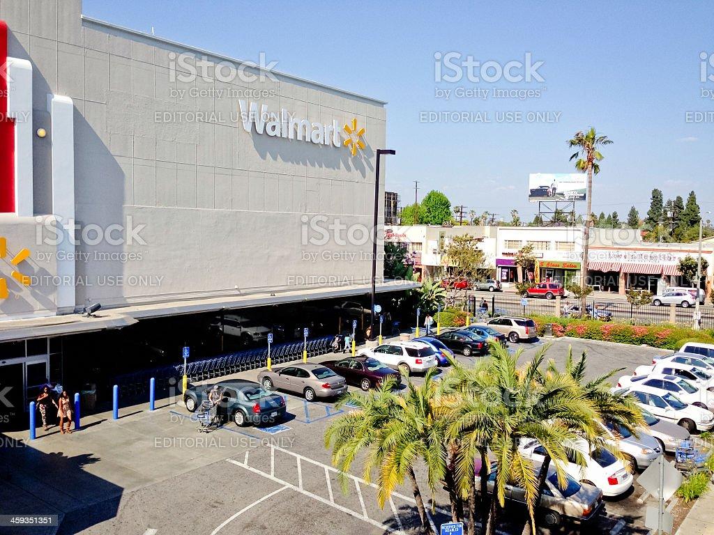 Walmart stores los angeles ca