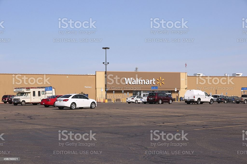 Walmart - Royalty-free Business Stock Photo
