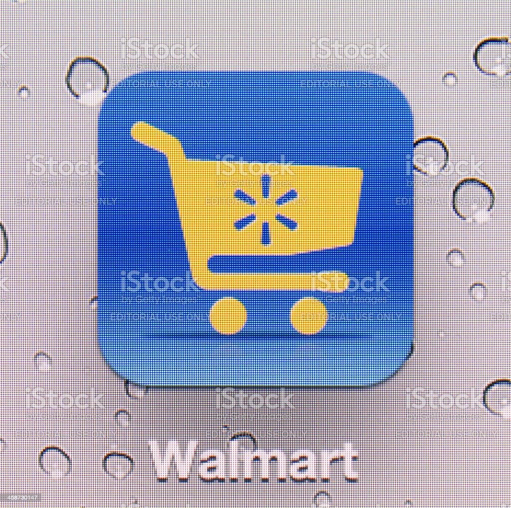 Walmart royalty-free stock photo