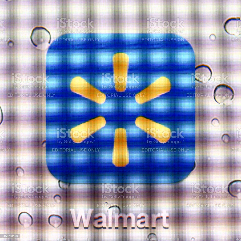 Walmart royalty-free stock photo